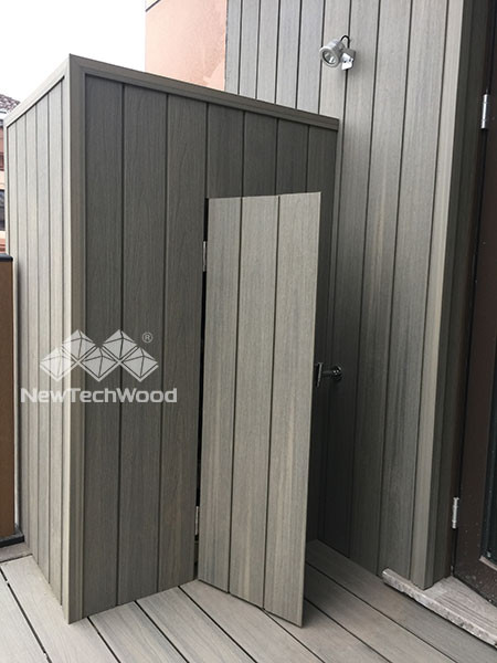 Top quality wood plastic composite cladding